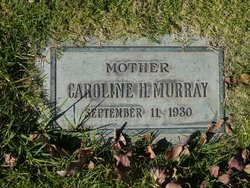 Caroline <I>Holaday</I> Murray