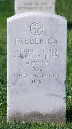 Frederica Albright