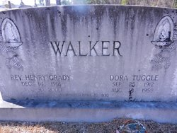 Dora <I>Tuggle</I> Walker