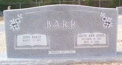 Edith Ann <I>Jones</I> Barr