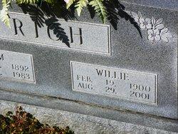 Willie Frances <I>Roberts</I> Rich