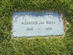 Alexander Jan Brown