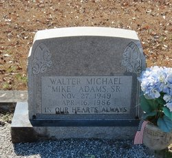 Walter Michael Adams, Sr
