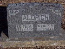 Edith Louisa Maria <I>Cutshall</I> Aldrich
