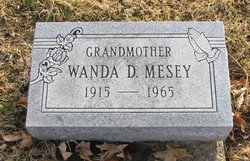 Wanda D <I>Almo</I> Mesey