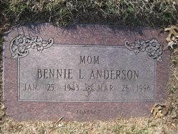 Bennie L. <I>Stone</I> Anderson