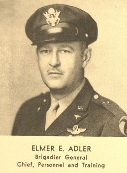 MG Elmer Edward Adler