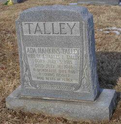 Ada <I>Hankins</I> Talley