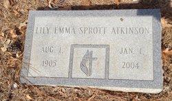 Lily <I>Sprott</I> Atkinson