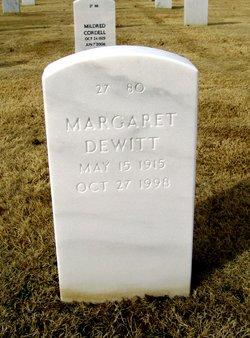 Margaret <I>Elderton</I> Dewitt