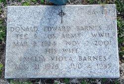 Donald Edward Barnes, Sr
