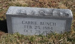 Carrie <I>Kirby</I> Bunch