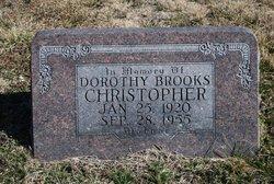 Dorothy <I>Brooks</I> Christopher