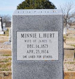 Minnie Louise <I>Vogel</I> Fulcher Hurt