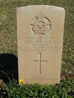Flight Lieutenant ( Air Bomber ) Thomas Hadley Macaulay