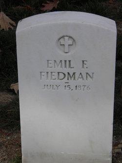 Emil F Fiedman