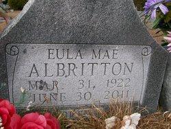 Eula Mae <I>Steverson</I> Albritton