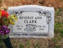 Beverly Ann <I>Edmonds</I> Clark