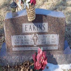 Pansy Mary <I>Howard</I> Eakins
