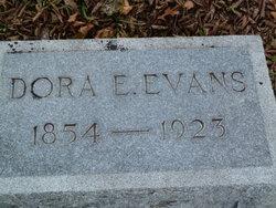 Dora E <I>Dunaway</I> Evans