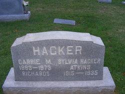 Sylvia <I>Hacker</I> Atkins