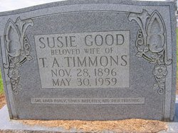 Susie Lee Belle <I>Good</I> Timmons