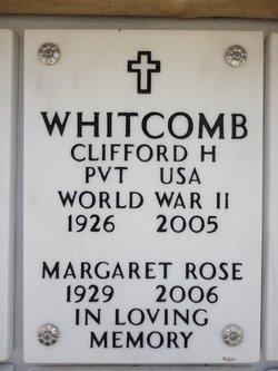 """Clifford H. """"Bob"""" Whitcomb"""