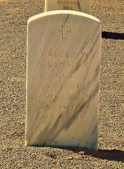 Walter W Cushman