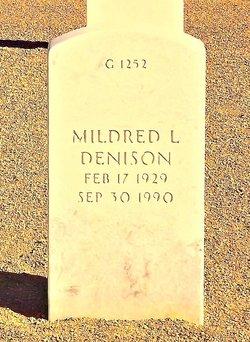 Mildred L Denison