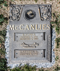 "Ovie Kathryn ""Kak"" <I>Langston</I> McCanlies"