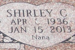"Shirley C. ""Nana"" Brown"