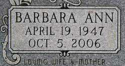 Barbara Ann Kennedy