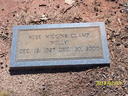 """Rose Marie """"Polly"""" <I>Wiggins</I> Clamp"""