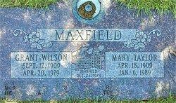 Mary <I>Taylor</I> Maxfield