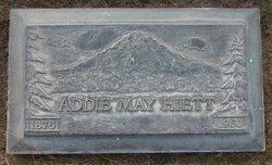 Addie May <I>Detamore</I> Hiett