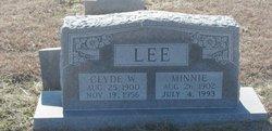 Minnie <I>Franks</I> Lee