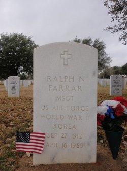 Ralph N Farrar