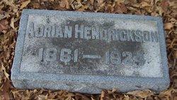 Adrian Hendrickson