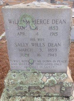 "Sarah E ""Sally"" <I>Wills</I> Dean"