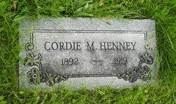 Cordie M. Henney