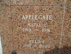 Hazel Lenora <I>Griffith</I> Applegate