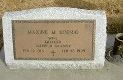 Maxine M. <I>Crowe</I> Koenig