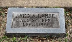 Fred A. Lange