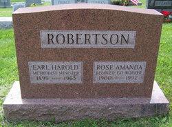 Rose Amanda <I>Wood</I> Robertson