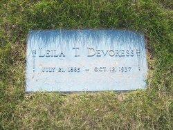 Leila Temperance <I>Hunt</I> DeVoress
