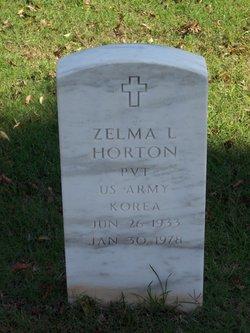 Pvt Zelma L Horton