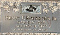 Henry Frederick Kolshorn, Jr