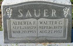 Alberta G Sauer