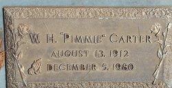 "Willis Harvey ""Pimmie"" Carter"
