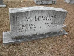 Martha Louise <I>James</I> McLemore